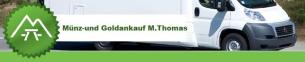 Firmenlogo: Münzankauf M.Thomas