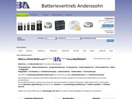 Batterievertrieb Anderssohn Holzheim bei Neu-Ulm