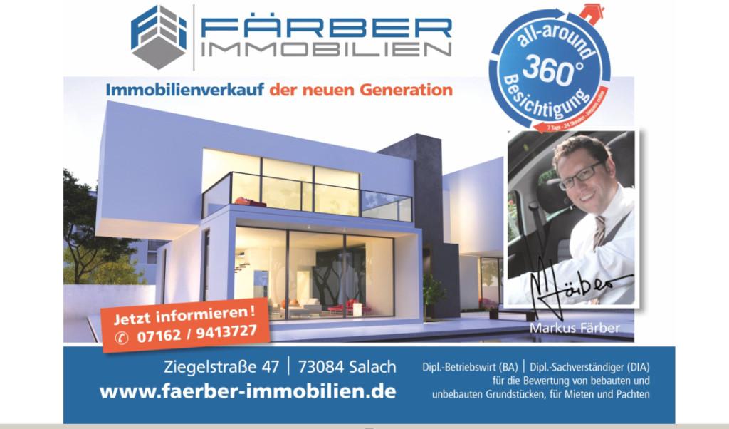 f rber immobilien in salach branchenbuch deutschland. Black Bedroom Furniture Sets. Home Design Ideas