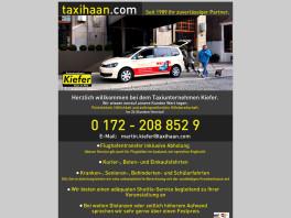 Martin Kiefer Taxibetrieb Haan, Rheinland