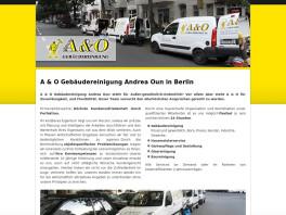 A & O Gebäudereinigung Andrea Oun Berlin