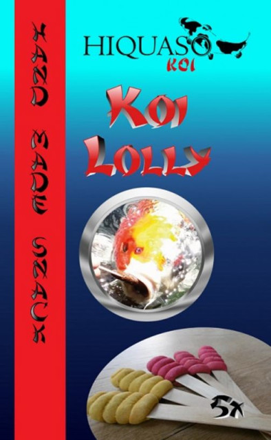 Koi Lolly - Handfutter