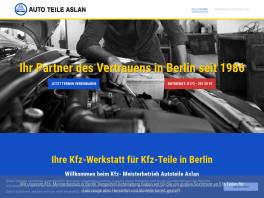 Autoteile Aslan - Ihre Kfz Werkstatt in Tempelhof Berlin