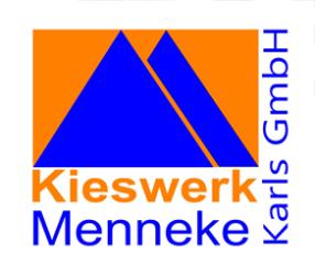 Firmenlogo: Kieswerk Menneke Karls GmbH, Betrieb Buchhorst