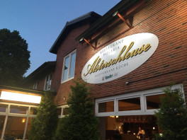 Restaurant Alsterschleuse Tangstedt, Kreis Stormarn