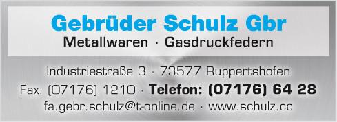 Bild zu Gebr. Schulz GbR in Ruppertshofen bei Schwäbisch Gmünd