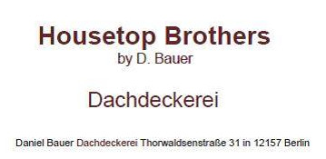 Bild zu Housetop Brothers by D. Bauer in Berlin