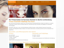 Friseur Kosmetik Fußpflege Ilse Pasch Berlin