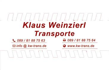 Bild zu Klaus Weinzierl-Transporte in München