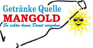 Logo Getränke Quelle Mangold