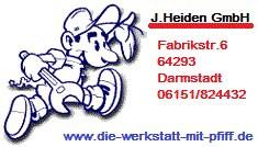 Bild zu KFZ Werkstatt J. Heiden GmbH - KFZ Werkstatt in Darmstadt in Darmstadt