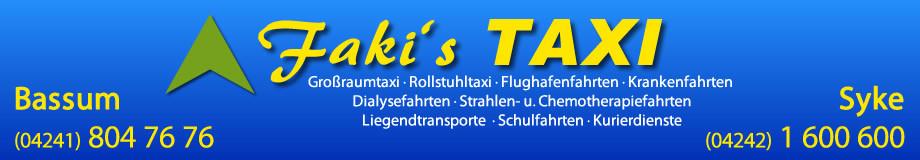 Logo von Faki's Taxi