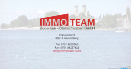 IMMO-TEAM Bodensee-Oberschwaben GmbH Ravensburg, Württemberg