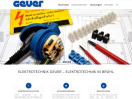 Geuer Elektrotechnik GmbH Brühl, Rheinland