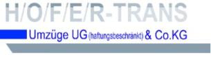 Firmenlogo: H/O/F/E/R - TRANS Umzüge UG & Co. KG
