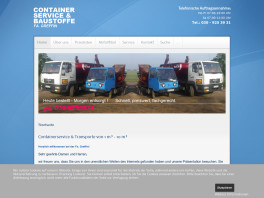 Greffin Containerservice Berlin