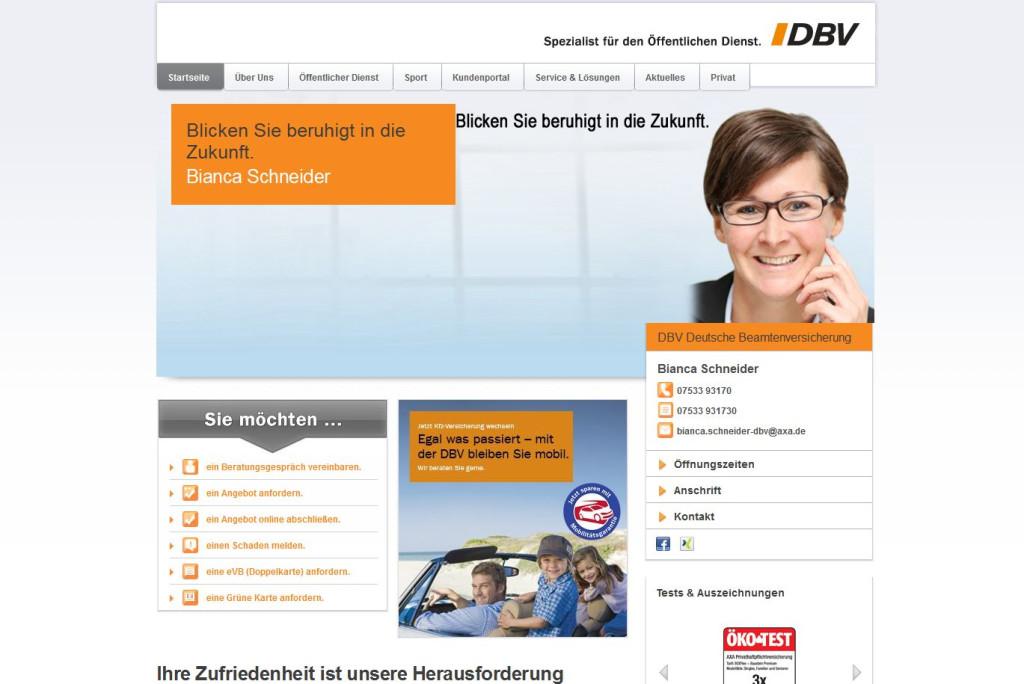 dbv versicherung adresse