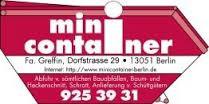 Bild zu Greffin Containerservice in Berlin