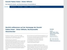 Dieter Wilhelm Rechtsanwalt / Steuerberater Dieter Wilhelm Fürstenfeldbruck