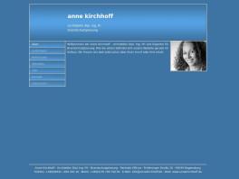 Anne Kirchhoff Architektin Brandschutzplanung Regensburg
