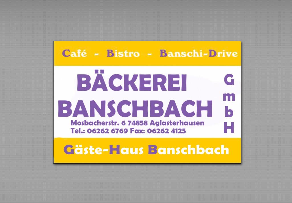 Bild zu Bäckerei Banschbach GmbH in Aglasterhausen