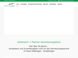 Ambrosch + Partner Vermessungsbüro Schönaich, Württemberg