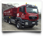 Schüttgut-Transporte, Entsorgung und Spedition