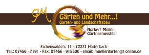 Firmenlogo: Gärten und Mehr Norbert Müller Gärtnermeister
