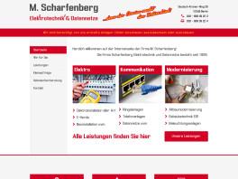 Scharfenberg Elektrotechnik & Datennetze Berlin