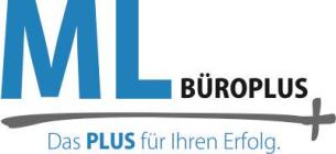 Firmenlogo: ML Büroplus UG (haftungsbeschränkt)