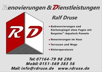 Bild zu Druse Ralf, Renovierungen Dienstleistungen in Bad Boll Gemeinde Boll