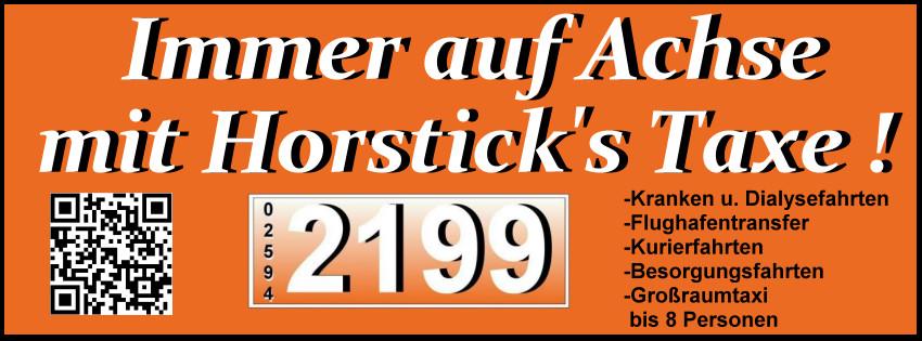 Bild zu Ralf Horstick Taxiunternehmen in Dülmen