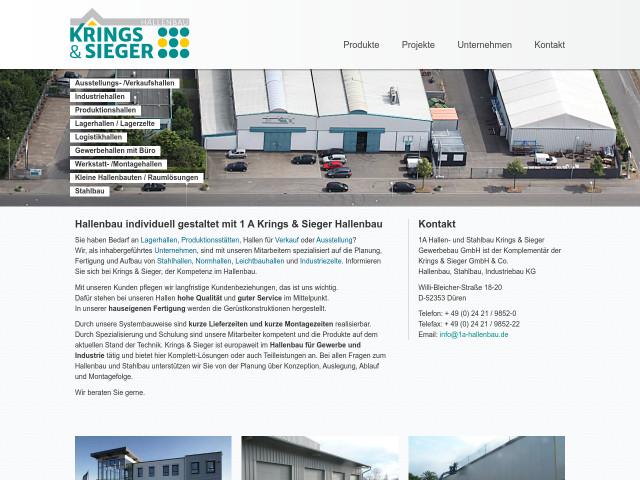 1 a hallen und stahlbau krings sieger gmbh co kg in d ren birkesdorf stahlhallen. Black Bedroom Furniture Sets. Home Design Ideas