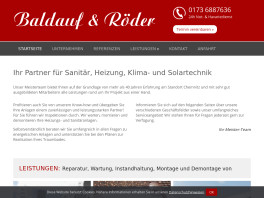 Baldauf und Röder Chemnitz, Sachsen