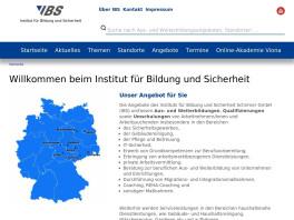 IBS Institut für Bildung und Sicherheit Chemnitz, Sachsen