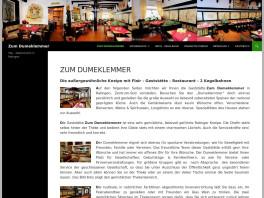 """Gasthaus """"Zum Dumeklemmer"""" Ratingen"""