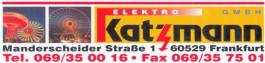 Elektro Katzmann GmbH Frankfurt am Main