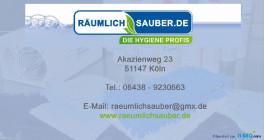 RÄUMLICHSAUBER.de - die Hygiene Profis Köln