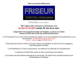 Friseur Heinemann Sankt Augustin