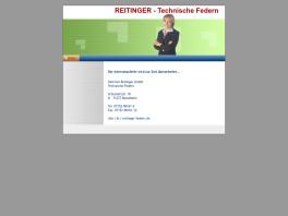 Heinrich Reitinger GmbH Technische Federn Rutesheim