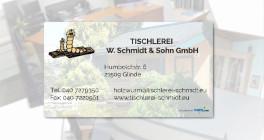 TISCHLEREI W. Schmidt & Sohn GmbH Glinde, Kreis Stormarn