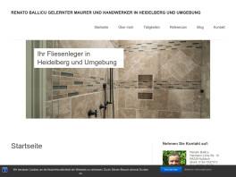 Renato Ballicu Fliesenverlegung - Sanierungen - Gebäudedienste Nußloch
