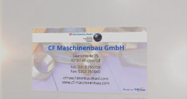 CF Maschinenbau GmbH Wuppertal