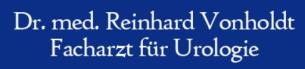 Firmenlogo: Dr. med. Reinhard Vonholdt - Facharzt für Urologie