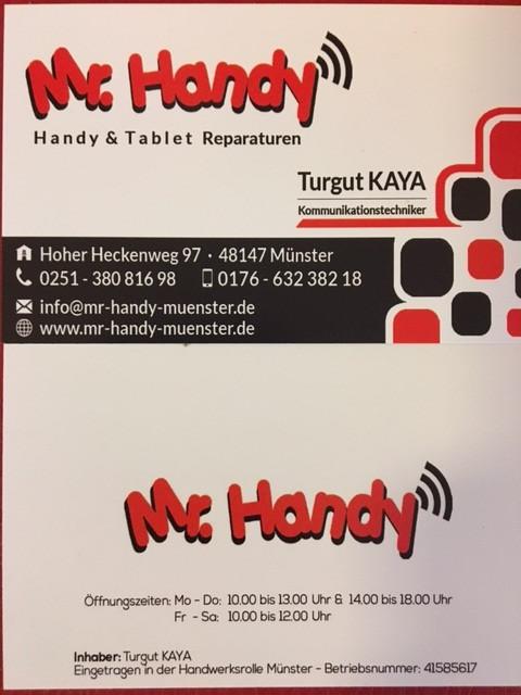 Bild zu MR. HANDY in Münster