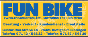 Bild zu FUNBIKE - Motorroller und mehr in Bietigheim Bissingen