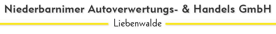Logo von Niederbarnimer Autoverwertungs- & Handels GmbH