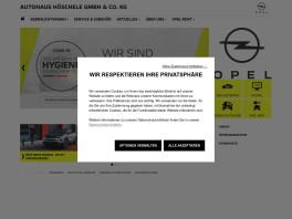 Autohaus Höschele Gmbh & Co. KG Gerlingen, Württemberg