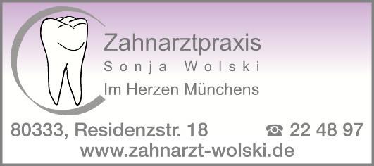 Bild zu Zahnarztpraxis Sonja Wolski in München