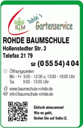 Firmenlogo: Carsten Rohde, Baumschule